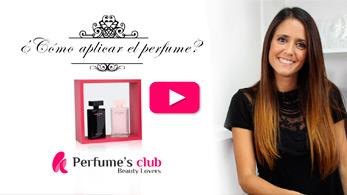 Aplicar perfume