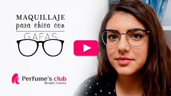 Maquillaje para chica con gafas